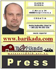 Darko Budna - Barikada Press Card