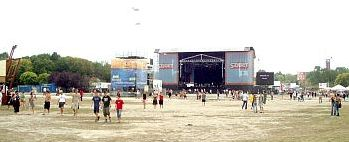 Main Stage by day